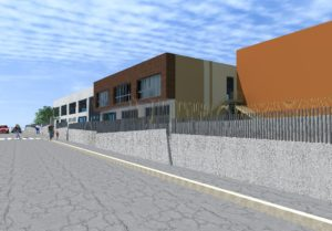 scuola Ururi ingresso via Dante strada