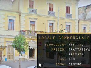 AFFITTO LOCALE COMERCIALE SAN MARTINO IN PENSILIS MOLISE CENTRO